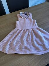 Prochain Filles Robe Taille 8 ans doublé rose summer