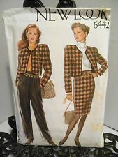New Look 6442 Sewing PATTERN Womens Jacket Skirt Pants Size 8 10 12 14 16 18