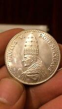 El Papa Pablo VI del Vaticano Plata Dorada 1975 Moneda Medalla Conmemorativa