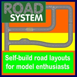 Road System - road layouts for model railway and car enthusiasts, N gauge scale