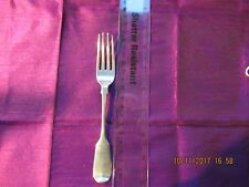 Solid Silver Victorian Table Fork - Fiddle Pattern