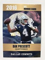 2016 Dak Prescott Rookie Card Rookie Phenoms Limited Edition