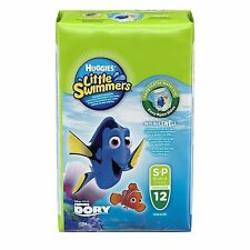 Huggies Little Swimmers Disposable Swim Diapers Size Small 27 Count Nemo Dory