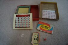 Vintage 1964 First Edition TV Jeopardy! Game Milton Bradley 4457 Complete