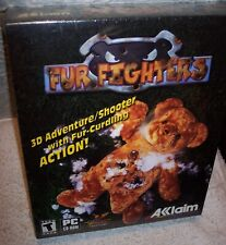 Fur Fighters (PC, 2000) NEW Big Box CD-Rom Acclaim & Bizzare Creations
