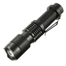 1600LM 5 Modes Zoomable Mini Flashlight 18650