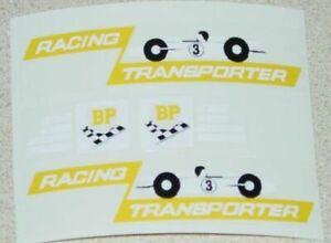 Matchbox Kingsize Race Car Transporter Stickers  MB-K5B
