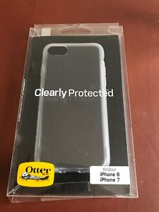 Genuine OtterBox iPhone 8 & 7 Clearly Protected Ultra Slim Skin Case Cover Clear