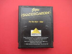 Super Skateboardin Atari 7800 Game