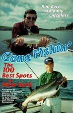 Gone Fishin': The 100 Best Spots in New York (Paperback or Softback)