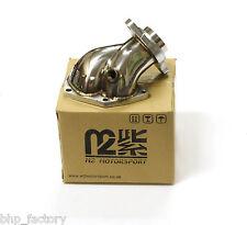 M2 MOTORSPORT MITSUBISHI EVO 7, 8, 9 TURBO DOWN PIPE ELBOW STAINLESS STEEL Z0412