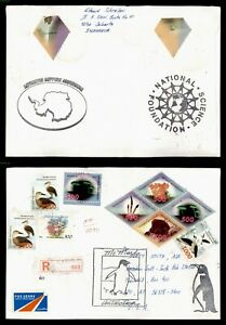 DR WHO 1999 INDONESIA ANTARCTICA REGISTERED TO USA  C239130