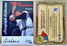 1999 Sports Illustrated Greats of the Game Autographs #38 Al Kaline Tigers