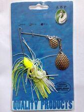 ABP       Spinner Bait  3/8 oz         Chartreuse   Chart / White Skirt
