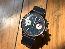 Stunning Vintage Chronograph — Yachting Colors — Exactus — Valjoux 7730