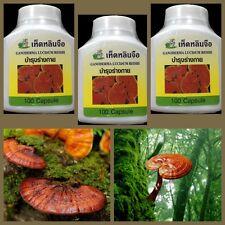 3 X Lingzhi рейши Ganoderma lucidum капсулы Super Food растение