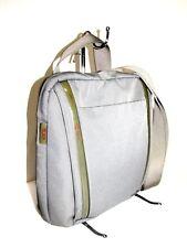 TUMI T-Tech Ballistic Nylon Gray Organizer Crossbody Travel Messenger Bag Style