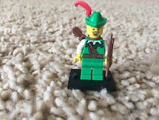 Lego Series 1 Forrestman Archer Minifigure 8683 Collectible w/Bow Arrow Quiver
