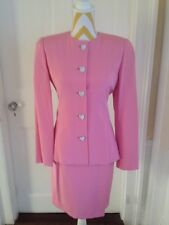 Pink Silk Skirt Suit by Helga for Saks Fifth Avenue Wedding Mother of Bride