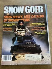 New Listing1981 September Sno Goer Snowmobile Magazine Kawasaki Interceptor Yamaha