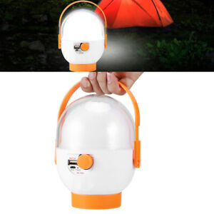 Portable Outdoor Camping USB Rechargeable LED Light Tent Lamp Emergency Lighting