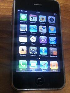 Apple iPhone 3G  MB702LL - 8GB Black AT&T  4.2.1