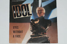 """BILLY IDOL -Eyes Without A Face / The Dead Next Door- 7"""" 45 Chrysalis 1984"""