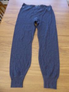 Vintage Duofold Men's Large Thermal Bottoms Double Layer Long Johns Cotton Poly