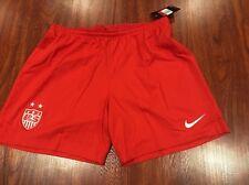 Nike Women's United States Soccer Jersey Shorts Large L US USA USWNT