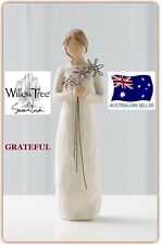 GRATEFUL Demdaco Willow Tree Figurine By Susan Lordi BRAND NEW IN BOX