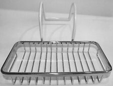 Clawfoot tub soap basket for leg tubs