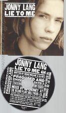 CD--JOHNNY LANG--LIE TO ME --PROMO