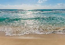 Schöne Komar Papier Fototapete 8-983 SEASIDE Strand Meer Wellen 368 x 254 cm