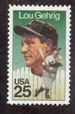 Scott #2417...25 Cent...Lou Gehrig...50 Stamps