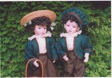Puppenmode Leinen Jacke und Rock für 48-50 cm, 2 Teile ohne Puppen
