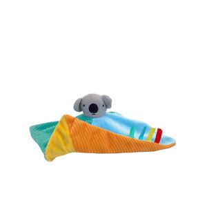 Baby Koala Rabbit Lovey Security Blanket Comforter Plush Animal Toy Reversible