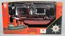ERTL Texaco The American Tugboat Bank Third In A Series Special Collectible 2002