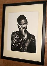 Iconic wall art -12''x16'' frame, Chris Rock print, Music Photo Still