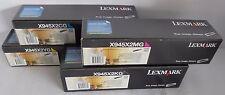 Lexmark X945X2 Toner CYMK für X940 X945 X945X2CG X945X2YG X945X2MG X945X2KG