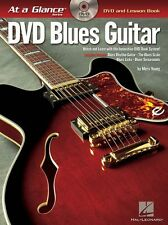 At A Glance Blues Guitar Learn to Play Beginner Lesson Music Book & DVD