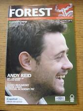 25/08/2004 Nottingham Forest v Scunthorpe United [Football League Cup] (No Appar