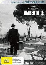 Umberto D (DVD, 2006)-REGION 4-Brand new-Free postage