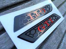 Golf 6 VI GTI Waben Performance Sitzemblem Folie Aufkleber