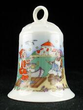 Hutschenreuther Porzellan Weihnachten Glocke 1998 Baumschmuck - xmas porcelain