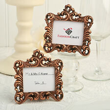 10 x Copper Vintage Baroque Design Place Card Holder Wedding Table Event Decor