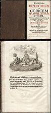 Johann Andree de La Haye  Codicem Maximilianeum civilem  München 1760