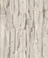 Vliestapete beige braun Holz Optik Struktur Rasch African Queen 2 473209 (3,05€/