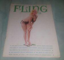 Fling Magazine June 1965 Jayne Mansfield