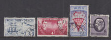 Ross Island Dependency 1957 Used FU Full Set Definitives Shackleton Scott Erebus