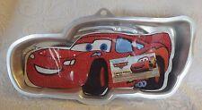"""Wilton Disney Pixar Cars Lightning McQueen Cake Cooking Pan 15"""" Long"""